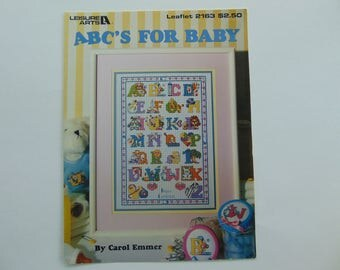 ABC's For Baby in Cross Stitch Leisure Arts 2163