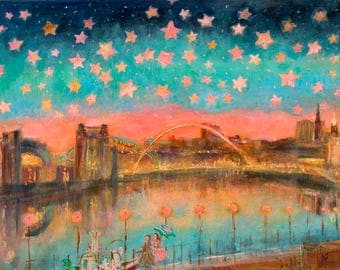 A Starry Night on The Quayside