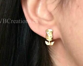 Tulip Earrings - Tulip Jewelry - Flower Earrings - Flower Jewelry - Flowers - Summer Jewelry - Dainty Earrings - Minimalist - Sister gift