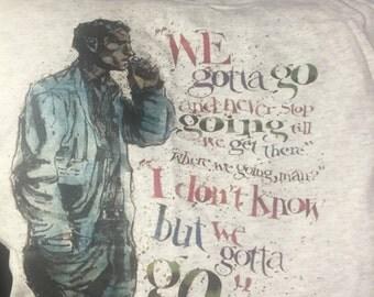 Jack Kerouac On the road tribute shirt