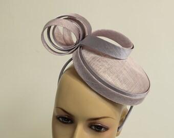 Elegant sinamay fascinator, Kate Middleton Style Fascinator , Kentucky Derby Fascinator, English Royal Hat, Wedding,Church,Formal,Dressy