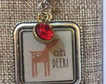 Oh Deer Necklace