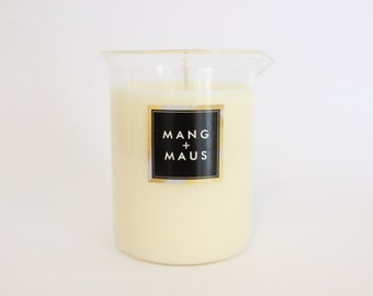 Black Fig & Guava Hand-poured Soy Beaker Candle