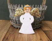 Angel tree topper Angel decoration Angel ornament Christmas Angel