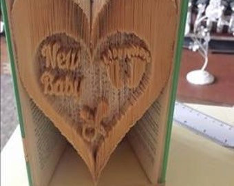 New Baby Book Folding Pattern (Measure Mark Combination Fold)