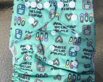If Your Diaper Isn't Cloth It's Garbage - pocket diaper