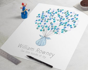 Baby Shower Guest Book - Delivery Baby Shower, a perfect baby shower sign-in or  baby shower guestbook. guest book alternative, baby boy