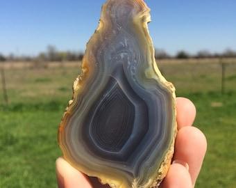 Natural Agate Slice (91g)