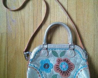 Oilily Funky and Fun Summer convertible handbag // French maker, boho look, young and fun, handbag / shoulder bag