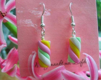 Marshmallow Earrings