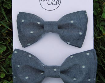 Father/ Son Spring Bow tie set