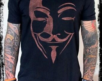 V for Vendetta / V de Vendetta T-shirt  - Mask