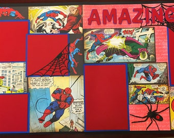 Spider-man two page layout 0607