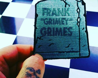 Frank Grimes ( Grimey) patch. For the simpsons lovers,collectors.