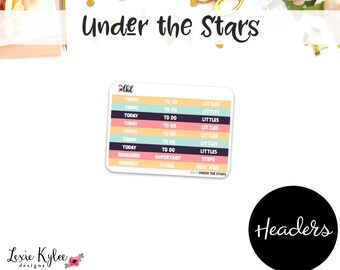 Headers  ||  Under the Stars[101-8]