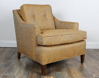 SOLD*** Vintage Mid Century Lounge Chair