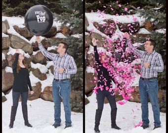 Gender Reveal Balloons is it a boy or is it a girl, Baby Shower. Gender Reveal Party