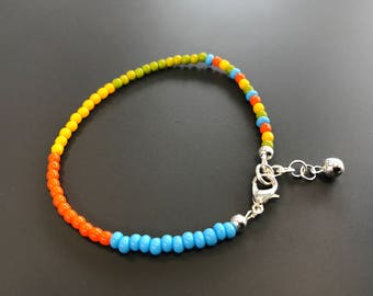 Kids beaded summer ankle chain