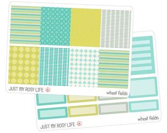 Wheat Fields Set Planner Stickers