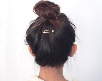 safety pin hairpin