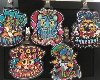 Fursuit Personality Badges! what type of furry are you?