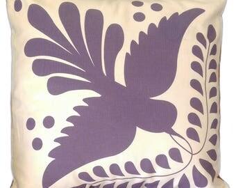 "Talavera inspired sofa cushion, 18x18"" Style # 03"