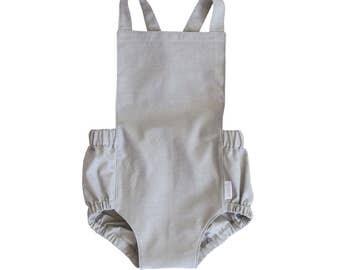 Grey Dune Romper, Baby Romper, Toddler Romper, Kids Romper, Girls Romper, Boys Romper, Sunsuit, Romper