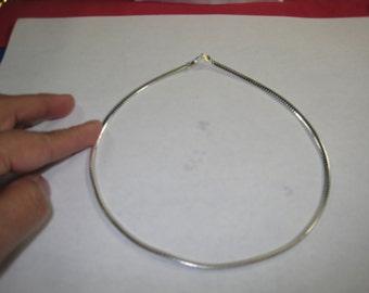 Q-56  Vintage Necklace choker  925 silver