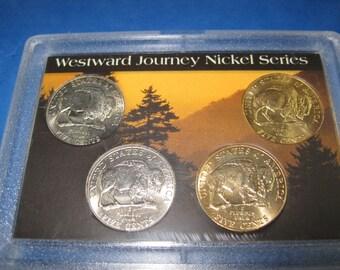R-4 Vintage UnCirculated Westward journey Nickel series buffalo nickle