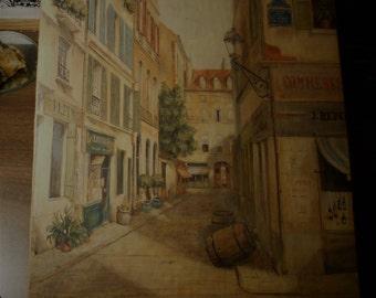 Old Print Petite France