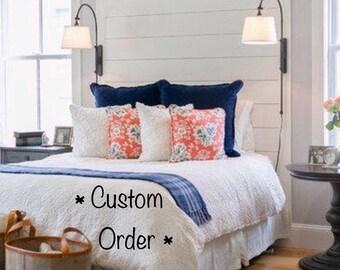 Shiplap/Cedar Headboard Replica-Custom Order