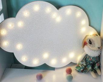 cloud light cloud lamp cloud marquee cloud gifts cloud ideas cloud room cloud nursery cloud interior cloud wall decals cloud led - Cloud Lamp Diy