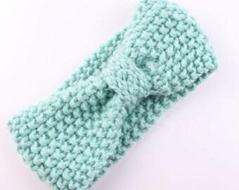 Turban Crochet Knitted Hairband/Headwrap