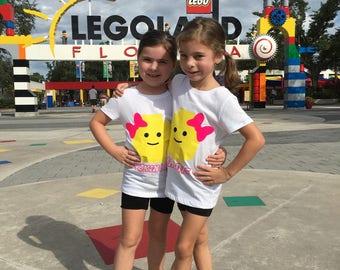 Lego Custom Name Shirt for Boys & Girls