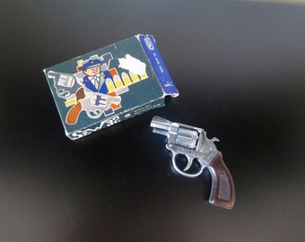 Vintage Toy Gun in Original Box, Model S&W 32, Made in Italy, Smith Wesson 32, 1950-1960s