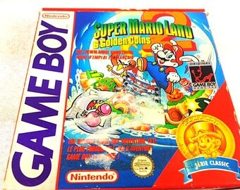 Super Mario Land 2 - Nintendo Gameboy - Complete in box