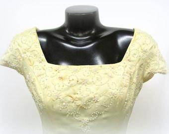 Vintage Sandwisp Beaded Dress