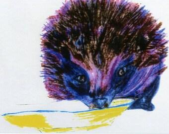 Horace the hedgehog