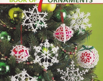 Big Book of Thread Ornaments, Leisure Arts Crochet Pattern Book 4795 Over 100 Christmas Patterns!