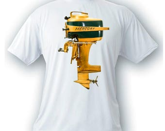 mercury Mark 20 H vintage outboard motor t-shirt