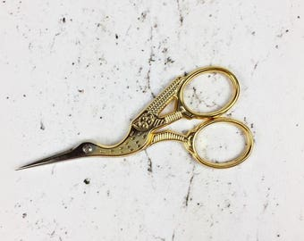 Janome - 9cm Stork embroidery scissors