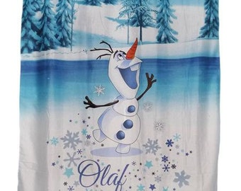 "Cloaking child semi-transparent ""OLAF"" (the snow Queen)"