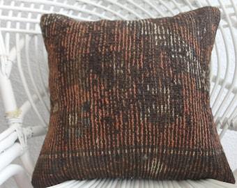 kilim pillows 16x16 kilim pillows 16x16 kilim copertina dark pillow throw pillows southwest pillow floor cushion 16 x 16 kilim pillow 1949