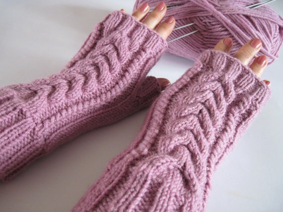 women gifts women girls elegant women birthday gifts knit mittens ready to ship pink gloves fall winter merry christmas gift for girlfriend