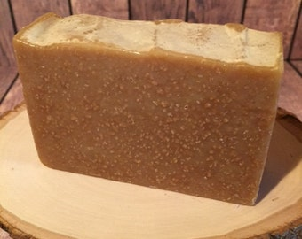Warm Vanilla Sugar Goat Milk Soap, Handmade Goat Milk Soap, Goat Milk Soap Bar, All Natural Milk Soap, Goat Gifts, Exfoliating Soap