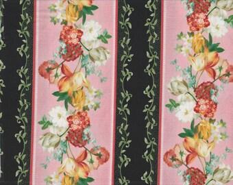 Les Fleurs - Per Yd - Quilting Treasures - Border Print