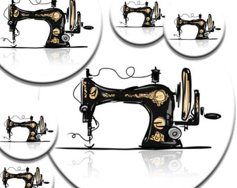 A pack of 6 vintage sewing machine Pattern weights Ideal for weighing down patterns on delicate fabrics no need for pins TV sewing Bee
