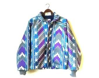 Vintage Southwestern Aztec hipster coat