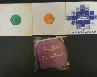 Grafitti Scrapbook 3 Record Vinyl Set Various Artist