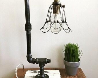 The Harlot- Farmhouse Table Lamp